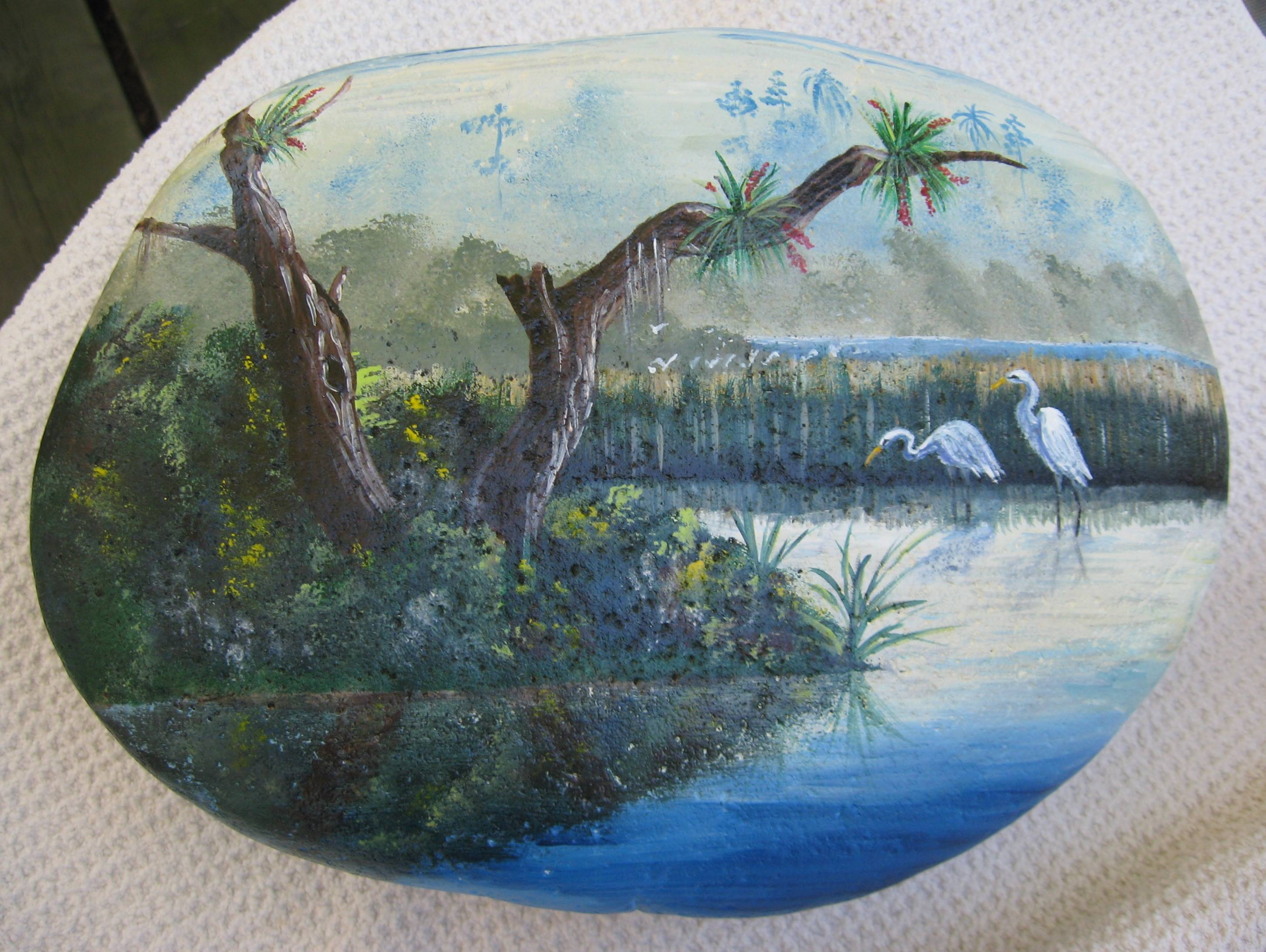 Hand painted rocks words and peace - Painting rocks for garden what kind of paint ...