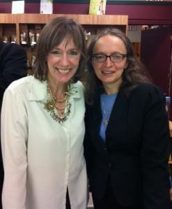 with Debra Dean