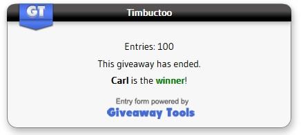 Timbuctoo winner