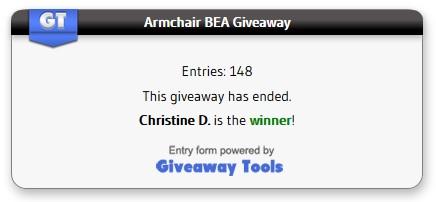 ArmchairBEA winner