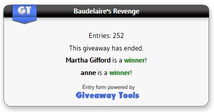 Baudelaire's Revenge winner