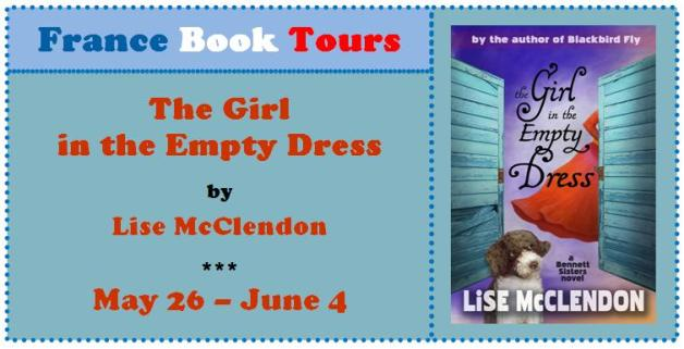 Girl in the empty dress banner