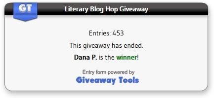 literary blog hop giveaway