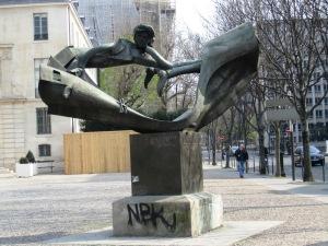 Rimbaud's statue