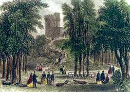 "The 18th Century ""Prince's Tower,"" by Philip John Ouless (image is in the Public Domain)"