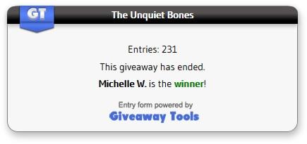 UNquiet Bones winner