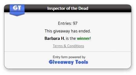 Inspector of the Dead Giveaway