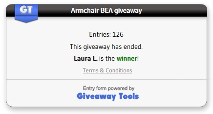 Amrchair BEA giveaway
