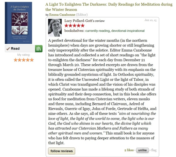 review on my book