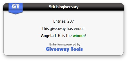 5th blogiversary winner