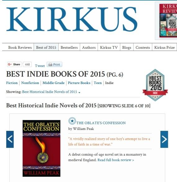 Kirkus best indie 2015