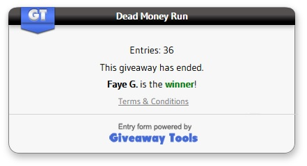 Dead Money Run winner