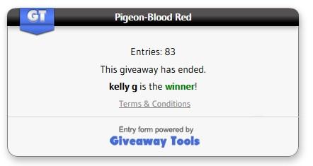 Pigeon-red blood winner