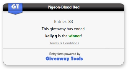 Pigeon-red blood winner