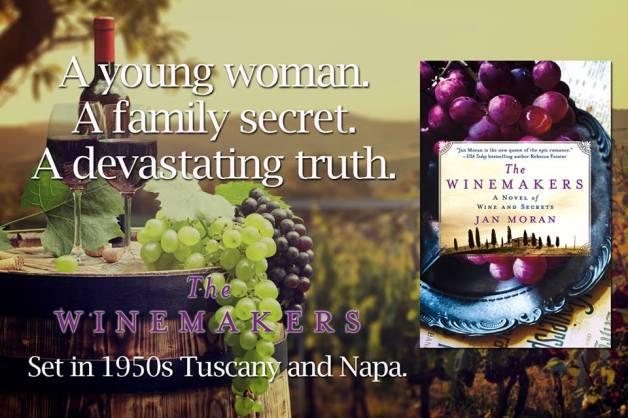 The Winemakers by Jan Moran debut