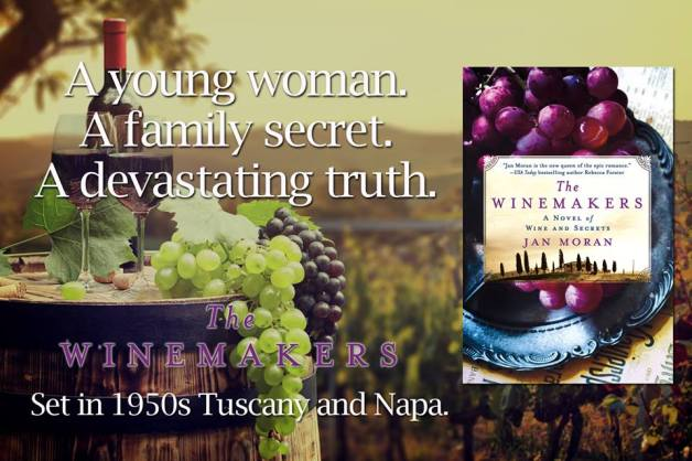 The Winemakers by Jan Moran debut