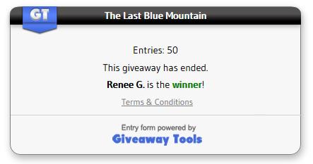 Last blue mountain winner