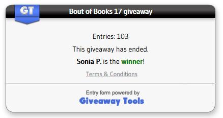 bout of books winner