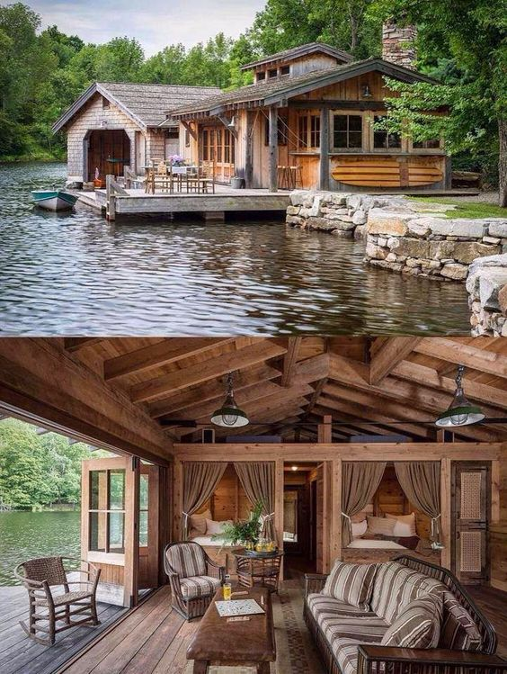 log-cabin-on-a-lake