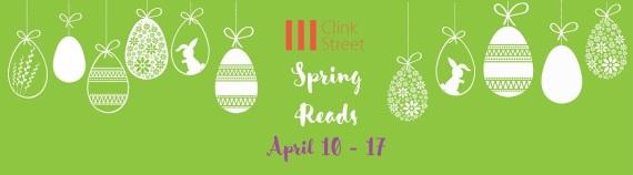 Spring Reads Social Banner