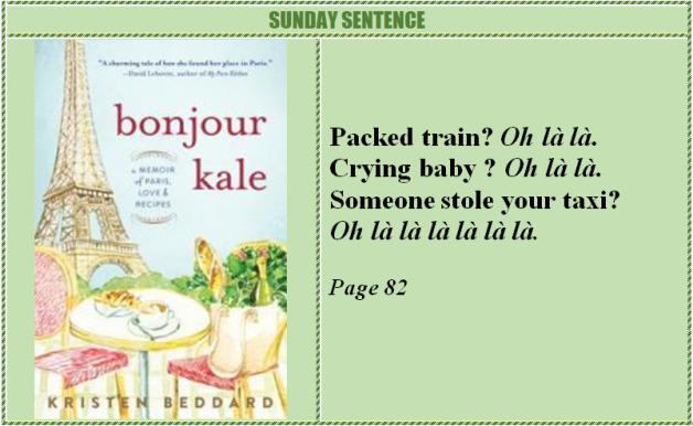 Bonjour Kale Sunday Sentence