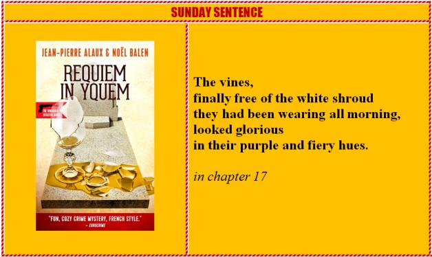 Sunday Sentence Requiem in Yquem