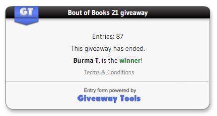 BoutofBooks 21 winner