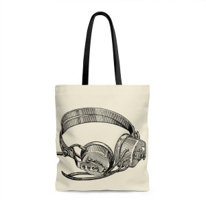 Headphone-Tote-Bag