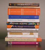 Longlist book stack