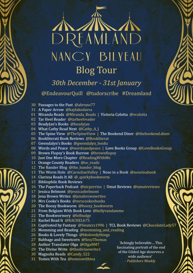 Dreamland Blog Tour Schedule