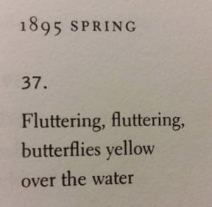 Haiku by Shiki