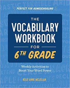 Vocabulary Workbook for 6th Grade