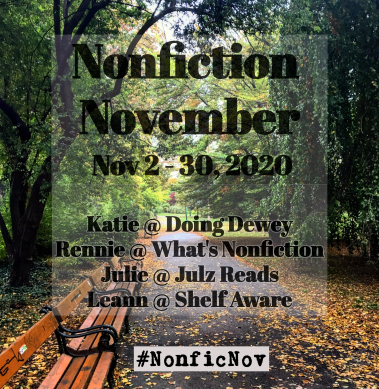 Nonfiction November 2020: New on my TBR